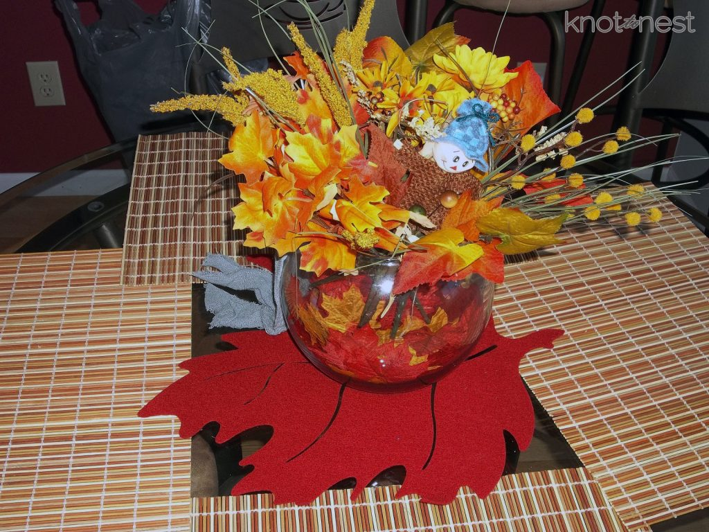 low cost fall decorations