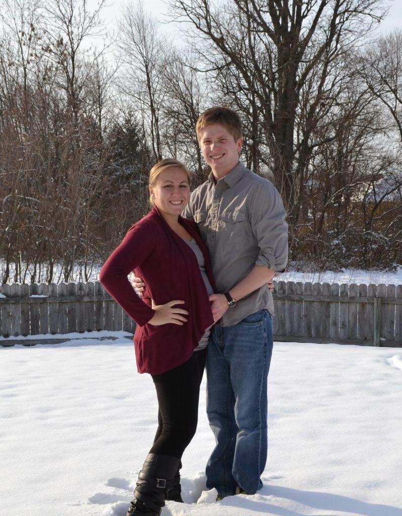 winter pregnancy picture
