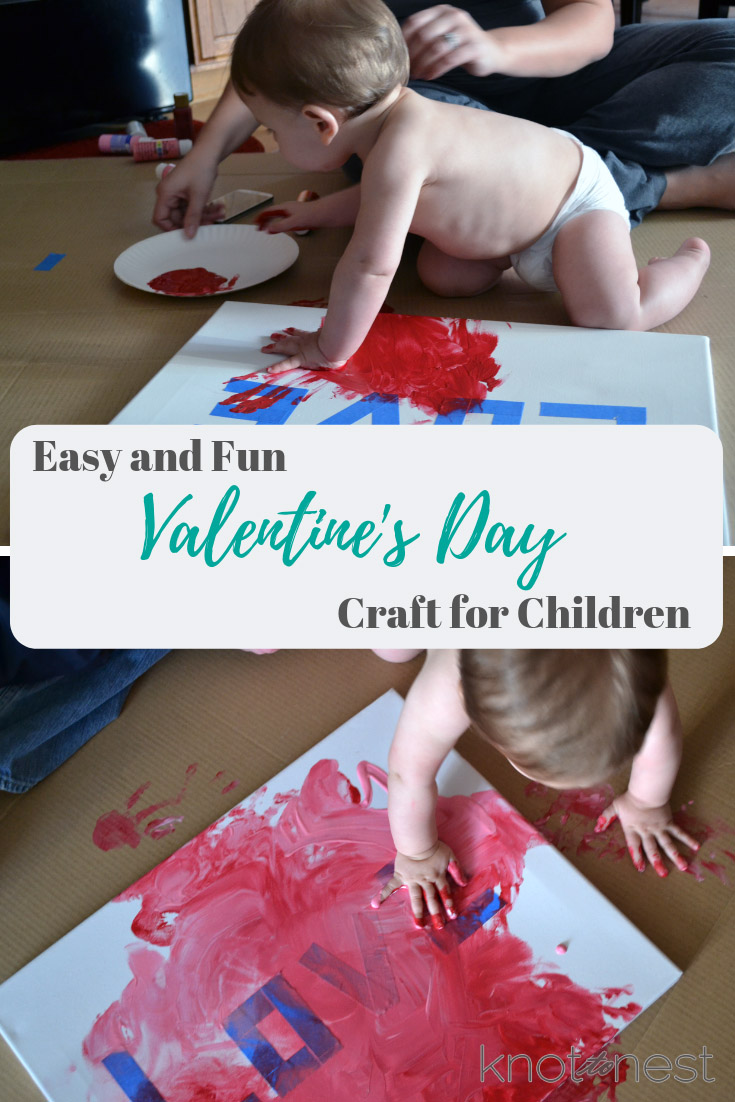 Easy and fun Valentines day craft for kids