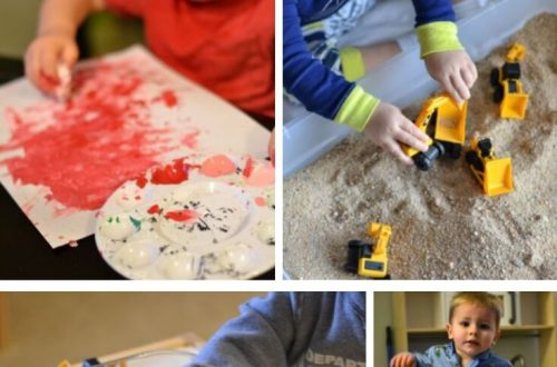 Easy winter weather activities for Toddlers