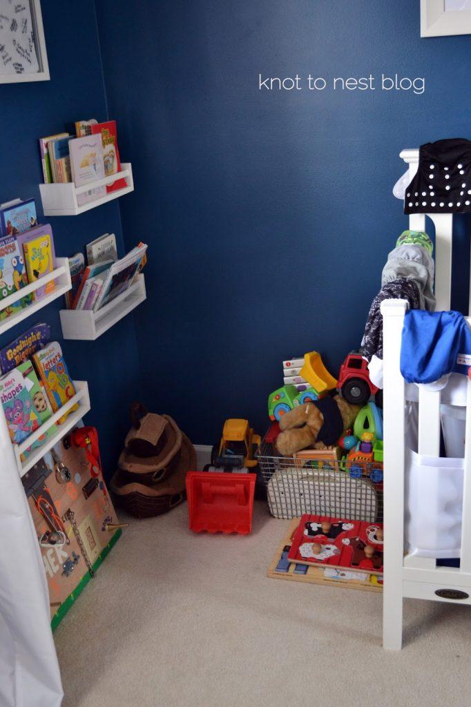 Useless nursery turned toddler room