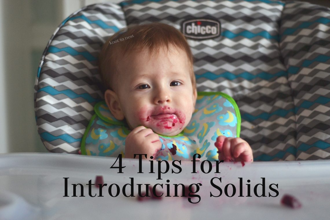 Tips for Introducing solids