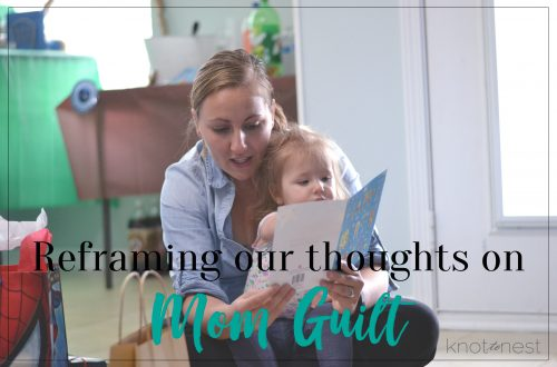 Mom guilt is an enemy to most moms but it doesn't have to ruin your motherhood journey.