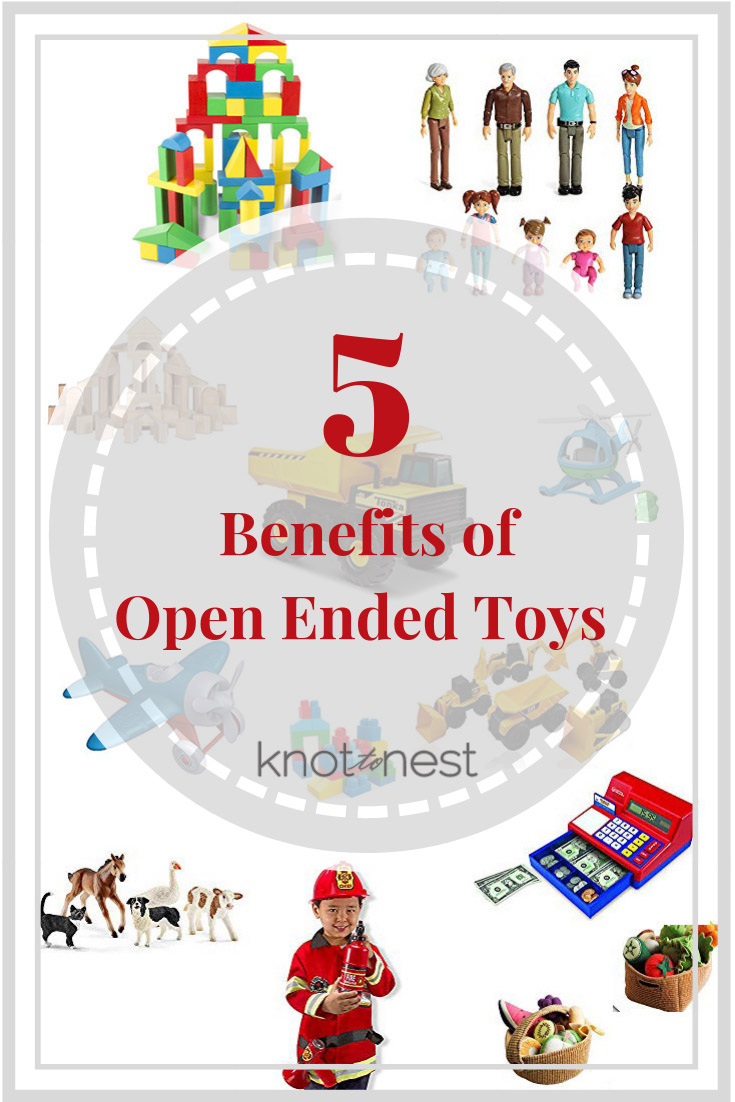 Open ended toy examples