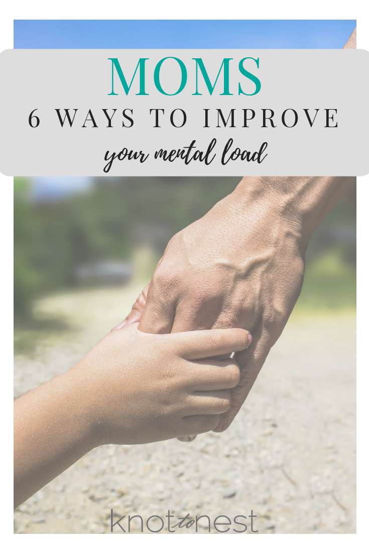 Improve the mental load of motherhood