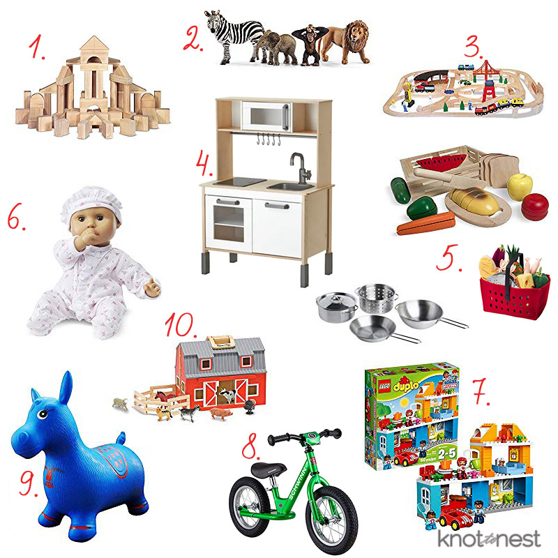 Open ended gift ideas for toddlers