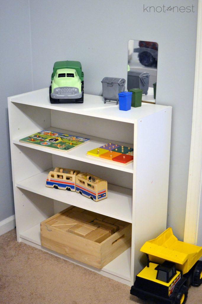 Toy organization tips. Easily organize your children's toys.