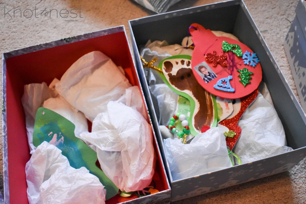 How to store fragile and important Christmas ornaments