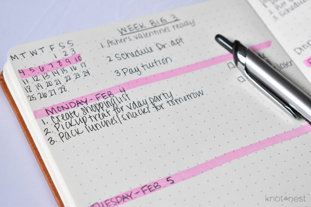 using a planner to solve mental clutter