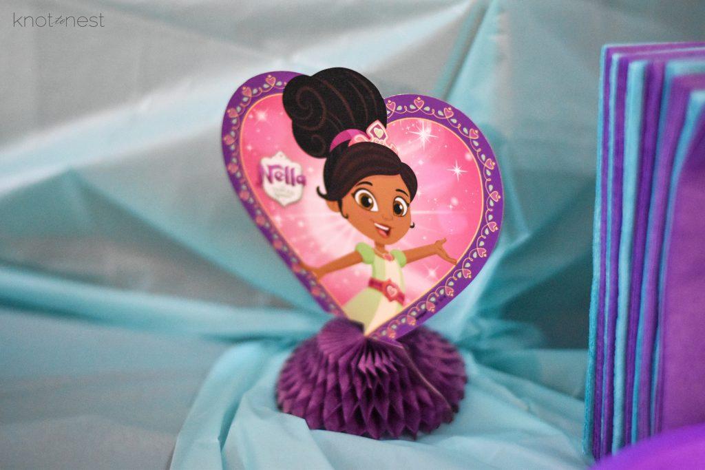 Nella the princess knight birthday party ideas.