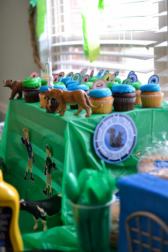 Wild Kratts Birthday Party