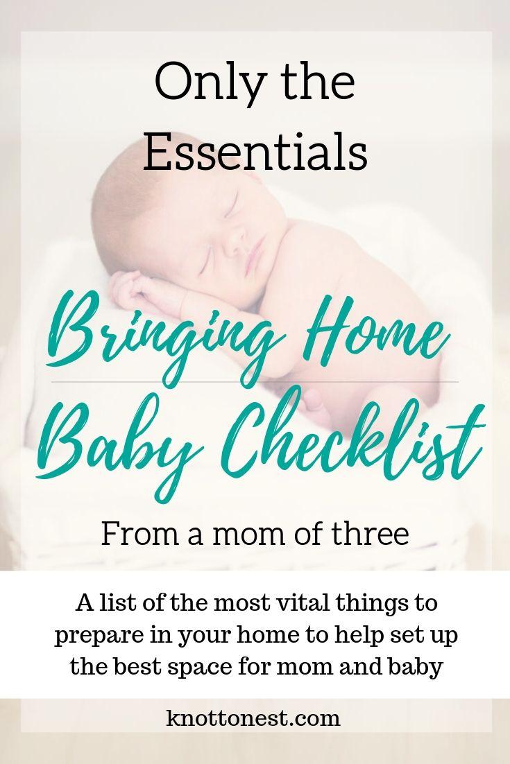 Bring home baby checklist